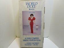 1985 WORLD DOLL LIMITED EDITION DYNASTY 19 INCH ALEXIS COLBY DOLL **NIB**