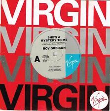 """ROY ORBISON - SHE'S A MYSTERY TO ME - 7"""" 45 VINYL RECORD - 1989"""