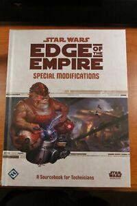 STAR WARS EDGE OF EMPIRE SPECIAL MODIFICATIONS MODULE RPG FANTASY FLIGHT HC RARE