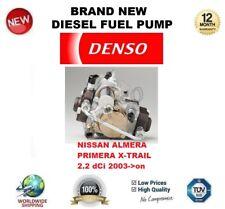 DENSO BRAND NEW DIESEL FUEL PUMP for NISSAN ALMERA PRIMERA X-TRAIL 2.2 dCi 2003>