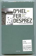 Coffret 2 CDs box + livre D'HELFER DESPREZ Requiem, Messes.. / Naïve neuf sealed