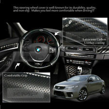 370mm Real Carbon Steering Wheel Cover for KIA 2009-2013 Cerato / Forte Koup