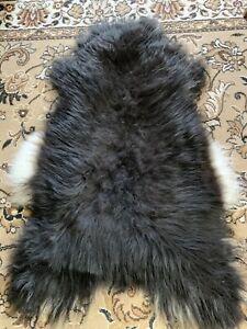 Island Sheepskin Seat Chair Sofa fur Carpet Interior Design Deco 47 3/16x31