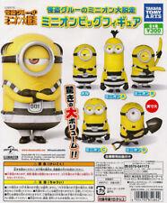 Takara Tomy Despicable Me 3 Minions Big Figure Gashapon Mel Set of 5pcs