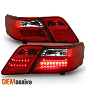 Right ECCPP Tail Light Assembly kit for 2007-2011 Toyota Camry Tail Lights Front Lamp Direct Replacement Pair Left
