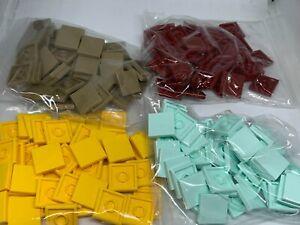 New - LEGO 50 2x2 Tile - 3068 [3068b]- Dark Red /Tan / Yellow /Aqua - You Choose