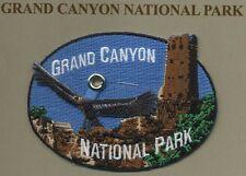 Official Grand Canyon National Park Souvenir Patch Condor Watchtower Arizona