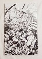 WEB OF VENOM WRAITH #1 KIRKHAM SECRET SKETCH VARIANT B&W KNULL RARE NM+ MYLAR 🔥