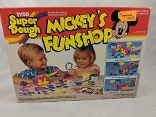 Tyco Super Dough Mickey's Funshop Mickey Mouse Box