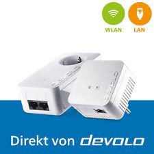 devolo dLAN 550 WiFi, 2 Powerline Adapter, Mesh WLAN Verstärker, 500 Mbps
