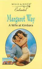 Good, A Wife at Kimbara (Enchanted), Way, Margaret, Book