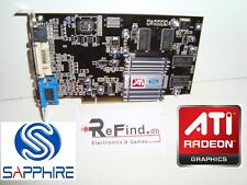 SCHEDA VIDEO GRAFICA PCI ATI RADEON SAPPHIRE 7000 64MB DDR VGA PC E MAC G3 G4 G5