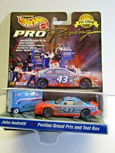 Mattel HotWheels PRO Racing 1998 Release John Andretti Pontiac Gr.Pr. & Tool Box