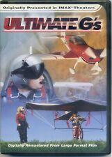Ultimate G's en 3D de Imax Campo Secuencial 3-D DVD Perfecto Estado