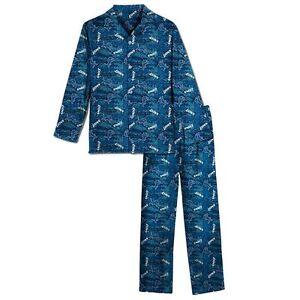 Detroit Lions NFL Youth Boys 2-Piece Pajama Set Size Small (6-7) - NWT