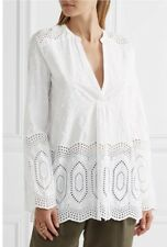 NWT Theory Ofeliah Eyelet Indian Cotton Top, Shirt, Tunic, M, SOLD OUT!!!