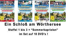 18 DVDs * EIN SCHLOSS AM WÖRTHERSEE - KOMPLETT + SOMMERKAPRIOLEN # NEU OVP )