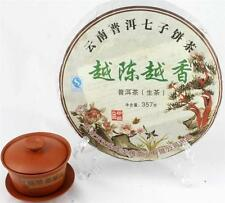 Yunnan Grade Raw Pu erh Puer Cake Tea 357g