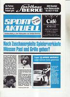 BL 83/84 Arminia Bielefeld - 1. FC Nürnberg