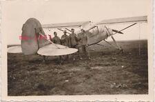 Foto fi 156 Fieseler Storch avión en África Dak