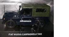 MODELLINO AUTO - FIAT NUOVA CAMPAGNOLA - 1982 - CARABINIERI - 1/43