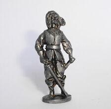 Kinder ancien en métal Mettalfiguren Musketiere 1988  n°5 Messing 40mm