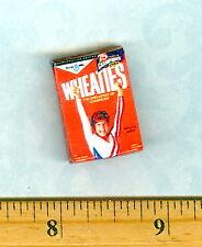 Dollhouse Miniature Size Sports Cereal Box Gymnastics