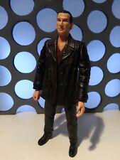 """9th Doctors Who Red Jumper Leather Jacket Loose 5"""" Figure Ninth Dr 11 Eleven Set"""