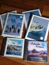ANTARCTIC Lot w/ 12 Colin Monteath Blank Note Cards & 2 CD's New, Sealed Bailey