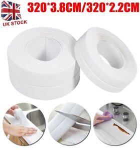 Bathroom Kitchen Silicone Sealing Strip Self Adhesive Waterproof Sink Edge Tape