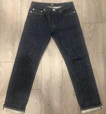 A.P.C New Standard Raw/Selvedge Blue Indigo Denim Size 32x32