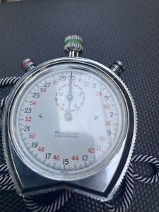 Vintage Westclox Mechanical Wind Up Stopwatch