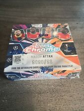 2020-2021 Topps Chrome Match Attax Display Champions League Box 20-21 CL Paket