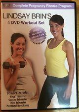 Lindsay Brin's Complete Pregnancy Fitness Program (4-Disc DVD set)