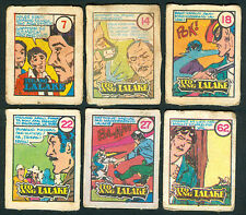 6 Vintage EXOTIC ITO ANG LALAKE Philippine TEKS / Trading Comic Cards