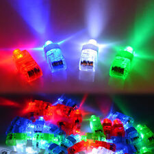 40X LED Light Up Flashing Finger Rings Glow Party Favors Kids Children Toys AUS