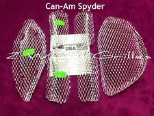07-14 CAN AM SPYDER GS RS ST FAIRING SCREENS GRILLS MESH VENTS MUST HAVE!