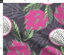 Fruit Dragon Pattern 33 Nature Fresh Summer Spoonflower Fabric by the Yard