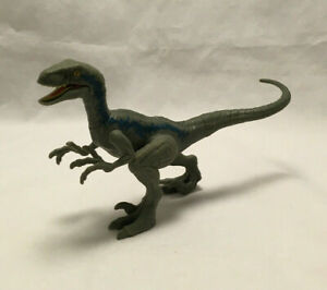 "Jurassic World Park Velociraptor ""Blue"" Dinosaur Action Figure - Mattel 2017"