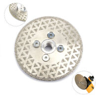 4.5'' M14 Electroplated Diamond Cutting Grinding Disc Blade For Granite Stone