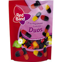 Red Band Fruchtgummi Lakritz Duos 11x200 g Beutel
