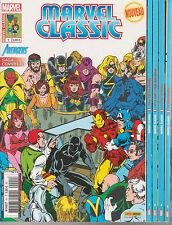 MARVEL CLASSIC  N°1 à 4 Marvel France 2ème série Panini comics