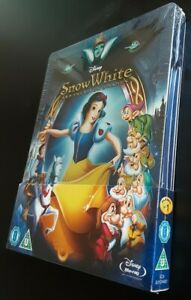 Snow-White and the Seven Dwarfs Steelbook Zavvi UK Blu-ray Neuf Sous Blister