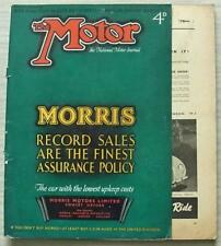 The MOTOR Magazine 21 Feb 1939 24HP DAIMLER & BSA SCOUT ROAD TESTED Mercedes