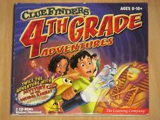 CD-ROM Clue Finders 4th grade Adventures Mystery of the Missing amulet