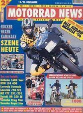 MN9612 + Test LAVERDA 650 Formula + Tuning KAHENA ST1600 + MOTORRAD NEWS 12 1996