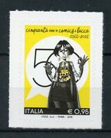 Italy 2016 MNH Lucca Comics & Games 50th Anniv 1v S/A Set Stamps