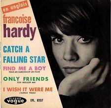 "EP FRANCOISE HARDY EN ANGLAIS ""CATCH A FALLING STAR"" - FRANCE"