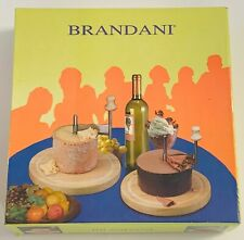 Brandani Cheese Curler Slicer / Cutter Wooden Block For Chocolate Hard Cheese