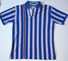 Vintage Striped Tommy Hilfiger Polo Large